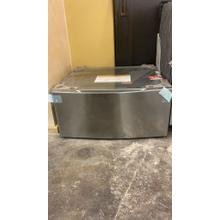 See Details - LG Laundry Pedestal with Storage Drawer for Washers and Dryers in Graphite Steel