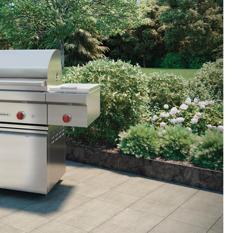 """42"""" Outdoor Grill Cart"""