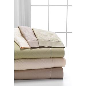 5Degree - Bamboo Rich Quilted Sheet Ensemble - Pale Sage