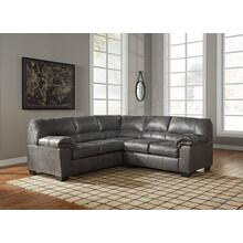 Ashley Bladen Sectional in Slate