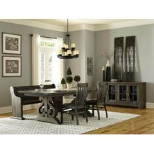 Magnussen Bellamy Dining Room Set with Bench