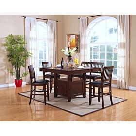 Kaylee Counter Table & 4 Chairs