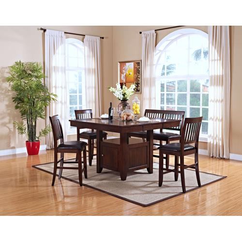 Gallery - Kaylee Counter Table & 4 Chairs