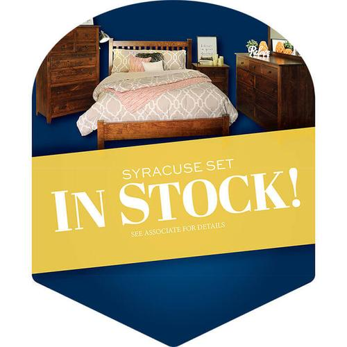 Syracuse Bedroom Collection - In Stock