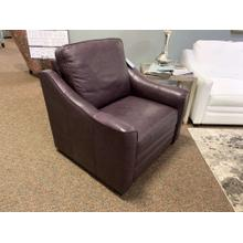 Eggplant Leather L9 Recliner