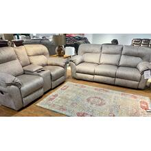 Cyber Space Driftwood Reclining Sofa & Loveseat