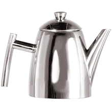 Frieling Stainless Steel Primo Teapot with Infuser Brushed Finish, 22 oz