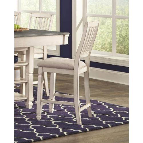 LIFESTYLE C1735-6P Brianne Cottage 6-Piece Dinette - Pub Table, Bench And 4 Chairs