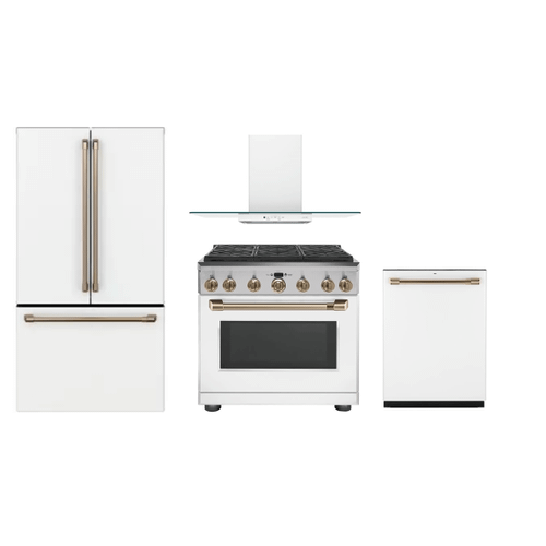 GE CAFE 4 PIECE APPLIANCE PACKAGE