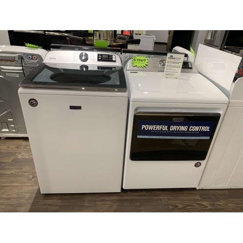 Maytag 5.2 CF Smart Washer and 7.4 CF Smart Dryer