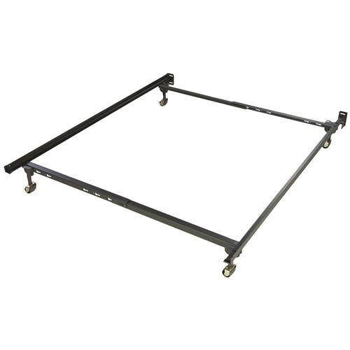 Glideaway Steel Bedframe Twin/Full size w/ Rug Rollers