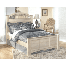 See Details - Catalina- Antique White- Queen Poster Bed