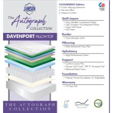 See Details - Davenport Pillowtop