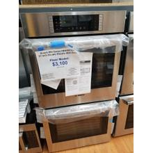 """See Details - Bosch 800 Series 27"""" Double Electric Wall Oven HBN8651UC (FLOOR MODEL)"""