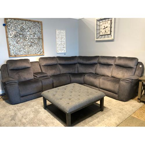 Southern Motion - Show Stopper 6 Piece Sectional