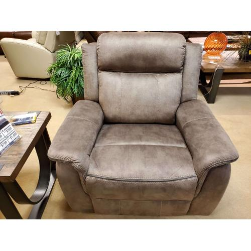 Kisner Lorenzo Brown Rocker Recliner