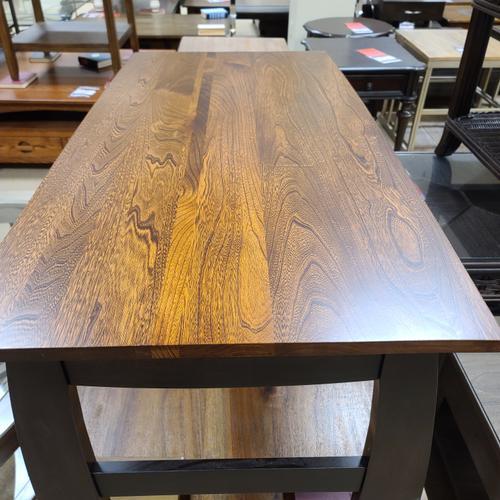 Genuine Oak - Amish - Solid Elm Cocktail Table (LROCOC639)