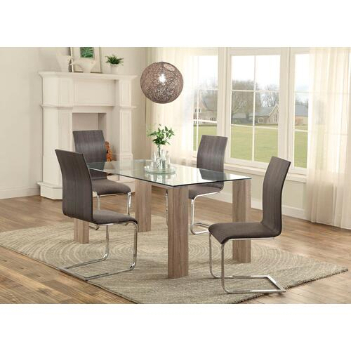 Zeba 5pc. Dining Room Set