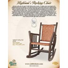 Highland's Rocking Chair
