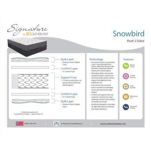 Southerland - Signature Collection - Snowbird - Plush