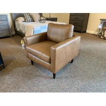 See Details - Trafton Collection Leather Accent Chair