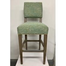 Upholstered Stationary Bar Stool