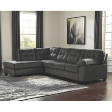 Accrington - Earth - 2-Piece Sectional with Left Facing Chaise