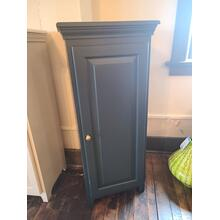 View Product - Pine 1 Door Jelly Cabinet - Forest Green
