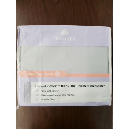 DREAM COMFORT SHEETS BRUSHED MICROFIBER SLATE