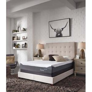 """Sierra Sleep - Chime 10"""" Memory Foam Mattress with Cool Tech Cover and Foundation"""