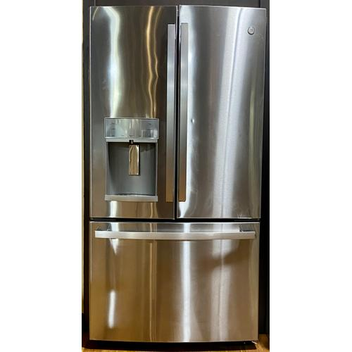 GE Profile™ PFE28KYNFS   Series ENERGY STAR® 27.7 Cu. Ft. Fingerprint Resistant French-Door Refrigerator with Hands-Free AutoFill