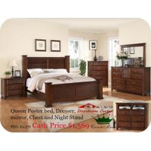 Crown Mark Furniture B1600 Norman Bedroom set Houston Texas USA Aztec Furniture