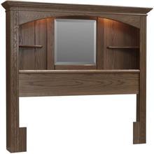 See Details - McKinley Bookcase Headboard Twin