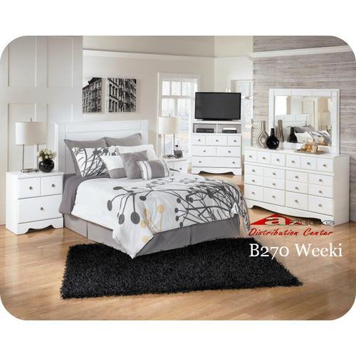 Ashley Furniture - Ashley B270 Weeki Bedroom set Houston Texas USA Aztec Furniture