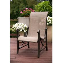 Agio International Davenport Woven and Metal Dining Chair