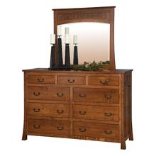 Bridgeport Mission Collection- Mule Dresser with Mirror