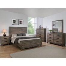 Tacoma Qn Bed, Dresser, Mirror, Chest and Nightstand