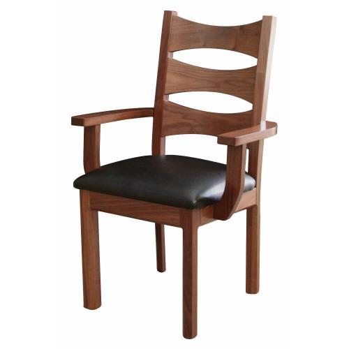 Amish Furniture - Columbo Arm Chair