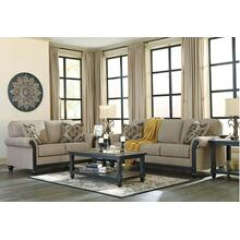 Blackwood Premium Living Room Set - 8pcs - Sofa, Loveseat, Tables, Lamps, Rug