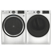See Details - GE Smart Front Load 4.8 cu. ft. Washer & 7.8 cu. ft. Electric Dryer- Open Box