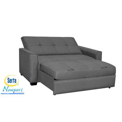 Newport Convertible Sofa Grey Queen