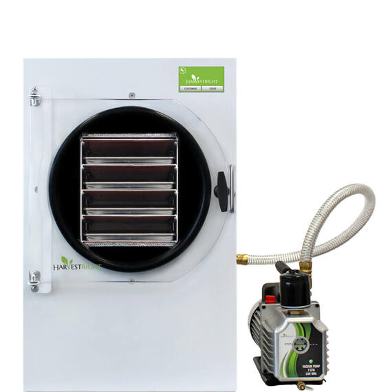 Medium White Freeze Dryer with Mylar Starter Kit