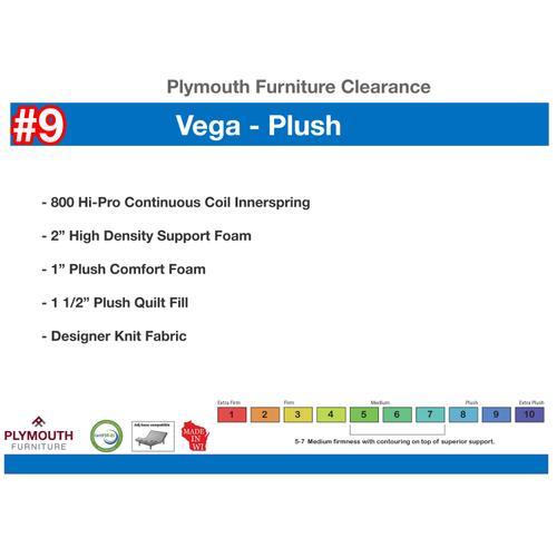 Vega Plush Mattress