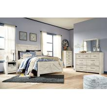 Bellaby - Queen Crossbuck Panel Bed, Dresser, Mirror, 1 X Nightstand