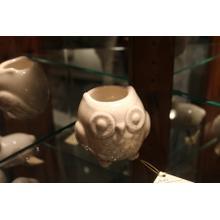 See Details - Owl Candle Holder