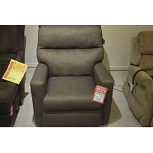 Design 2 Recline grey power recliner w/power headrest.