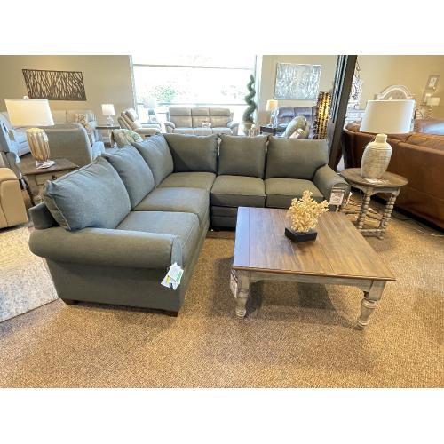 Bassett Furniture - Grey Sectional 2712