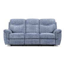 Sheffield Blue Dual Reclining Sofa