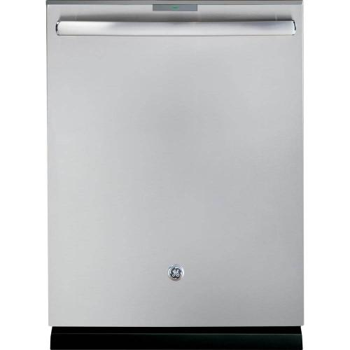 GE Profile 42dBA Stainless Steel Top Control with Stainless Steel Tub