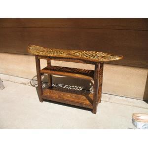 Snowshoe Console Table